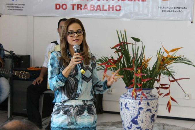 Anya Gadelha Diógenes, procuradora chefe do Ministério Público do Trabalho - MPT, também participou do evento.